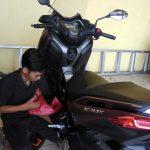 pasang gps motor