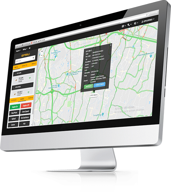 web gps indonesia