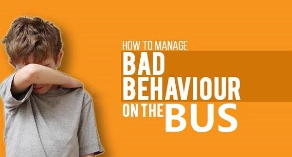 perilaku pengemudi bus