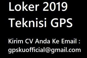Lowongan Kerja untuk Teknisi GPS Tracker