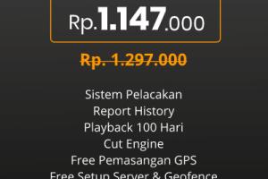 Harga GPS Tracker Motor Bikinan PT. GPSKU Karya Indonesia