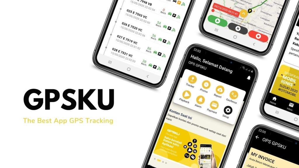 aplikasi gps tracker GPSKU