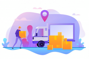 The Use of GPS Tracker Online in Logistic Company