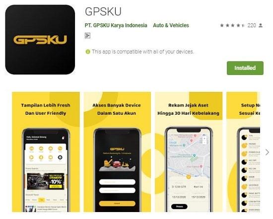 gps tracker aplikasi