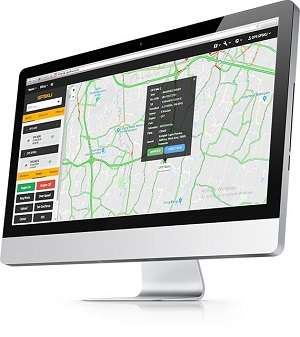web gps fleet management system