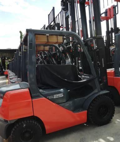 gps Forklift Toyota