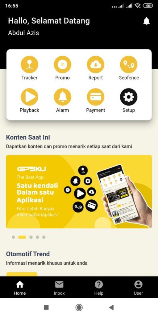 aplikasi tracking system