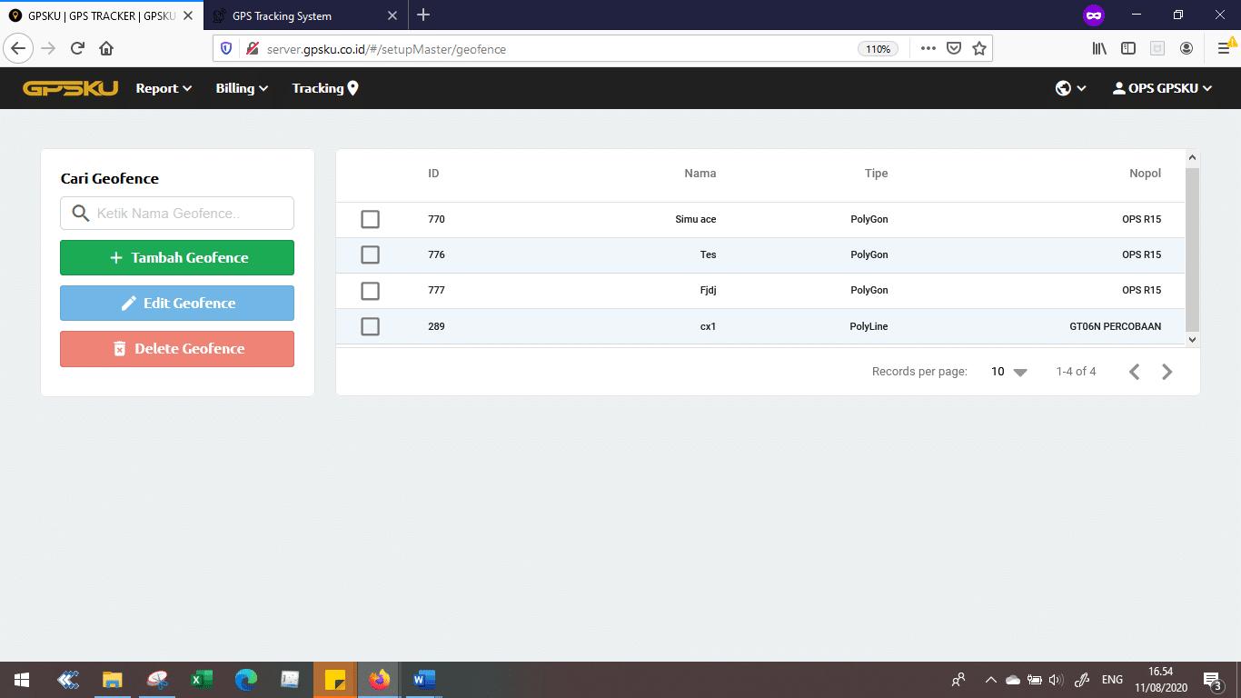 setup gps tracking server