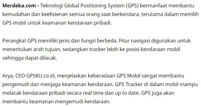 ulasan gpsku merdeka.com