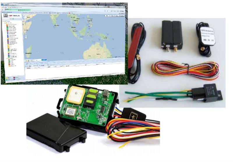 Pasang GPS tracker Alat berat di Pamekasan
