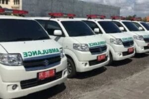 Pasang GPS tracker mobil ambulance di Pemkot Kendari