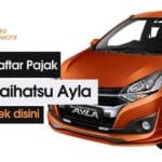 Pajak Mobil Daihatsu Ayla Tahun 2021